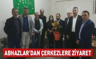 Abhazlar'dan Çerkezlere Ziyaret