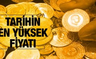 Altın fiyatları yükseldi, tüm zamanların rekorunu kırdı