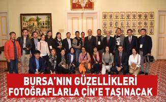 Bursa'nın güzellikleri fotoğraflarla Çin'e taşınacak