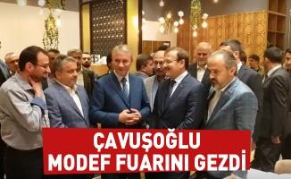 Çavuşoğlu MODEF Fuarı'nı Gezdi