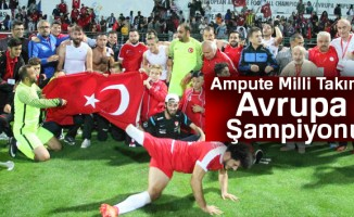 Türkiye 2-1 İngiltere |Ampute Milli Takımı Avrupa Şampiyonu
