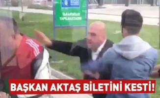 Başkan Aktaş'dan Bursa'da özel halk otobüsündeki skandal hakkında açıklama!