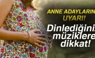 Hamileler dinledikleri müziklere dikkat etmeli!