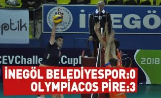 İnegöl Belediyespor:0 - Olympiacos Pire:3