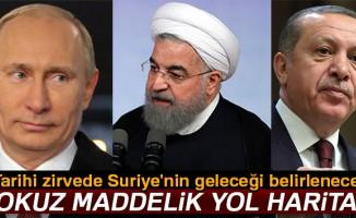 Tarihi zirvede Suriye'nin geleceği belirlenecek!