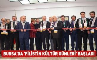 Bursa'da 'Filistin Kültür Günleri' başladı