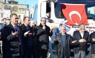 Gemlik'ten Suriye'ye 23. yardım TIR'ı