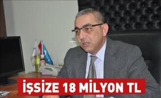 İşsize 18 milyon TL