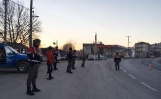 İznik Jandarma timlerinden huzur uygulaması