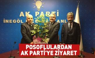 Posoflulardan AK Parti'ye Ziyaret