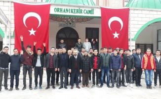Afrin Harekatı'na Büyükorhan halkından büyük destek