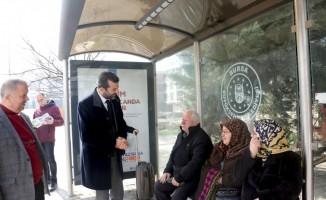 Başkan Iışık projeleri vatandaşlara anlattı
