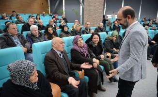 Edebali vatandaşlara kentsel dönüşümü anlatıyor
