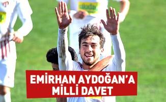 Emirhan Aydoğan'a Milli Davet