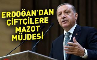 Erdoğan'dan çiftçilere mazot müjdesi