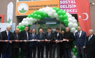 Hüdavendigar Sosyal Gelişim Merkezi açıldı