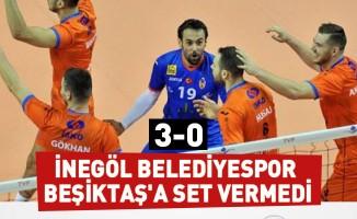 İnegöl Belediyespor:3 - Beşiktaş:0