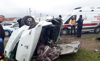 Korkunç kazada can pazarı: 1 ölü, 3 yaralı