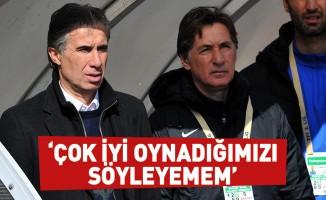 Murat Yoldaş: Çok iyi oynadığımızı söyleyemem