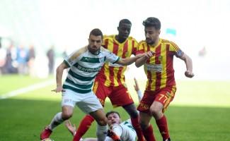 Spor Toto Süper Lig: Bursaspor: 0 - Evkur Yeni Malatyaspor: 0 (İlk yarı)