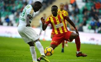 Spor Toto Süper Lig: Bursaspor: 0 - Evkur Yeni Malatyaspor: 0 (Maç sonucu)