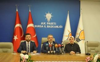 """AK Parti İl Başkanı Salman; """"Yaşlılara servetimiz olarak bakıyoruz"""""""