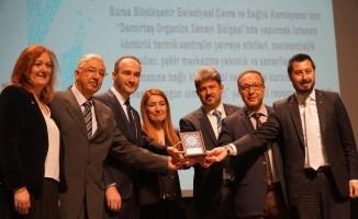 """Çevre Ödülü DOSAB'a """"hayır"""" diyen Büyükşehir Belediyesi'nin"""