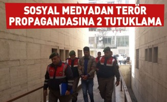 Sosyal medyadan terör propagandasına 2 tutuklama