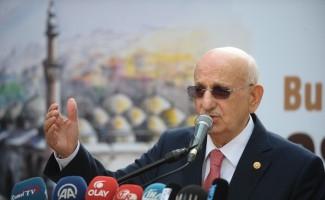 """TBMM Başkanı Kahraman: """"Afrin'deki operasyon savaş değil, teröristleri temizleme operasyonudur"""""""