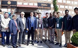 7 bölgeden 7 kıt'aya öğrenciler Osmangazi'de buluştu