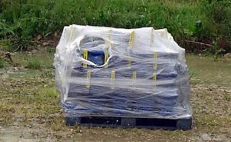 Boğazköy Barajı'nda çalınan vanaların yerine yenileri takıldı