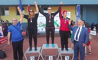 Nilüfer Belediyesi GESK'ten 37 madalya ve bir Türkiye rekoru