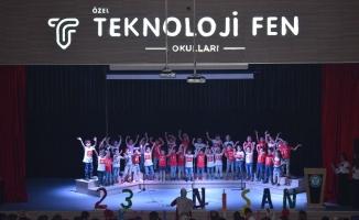Özel Teknoloji Fen Okulları'nda 23 Nisan coşkusu