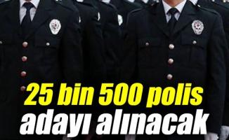 25 bin 500 polis alınacak işte aranan şartlar...
