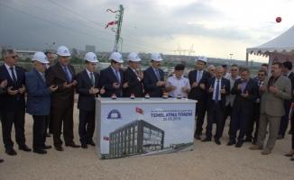 Bursa'da yeni yapılacak olan Nilüfer İlçe Emniyet Müdürlüğü binasının temeli atıldı