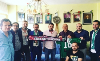 Bursaspor taraftarı Ramazan'da şehitleri unutmadı