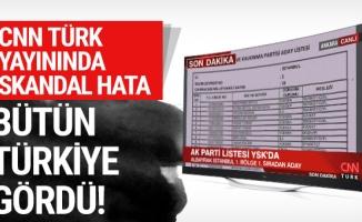 CNN Türk yayınında büyük skandal: Bütün Türkiye gördü!