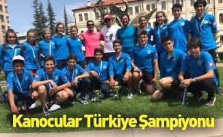 Kanocular Türkiye şampiyonu