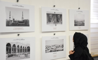 Kâbe fotoğrafları Vakıf Müzesi'nde