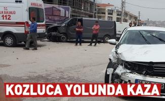 Kozluca Yolunda Kaza