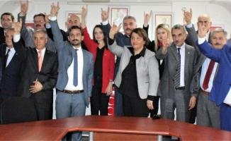 """MHP Genel Sekreteri Ataman:  """"CHP, yanına yöresine aldığı İP'iyle, PKK'sıyla FETÖ'süyle, HDP 'siyle komplo peşindedir"""""""