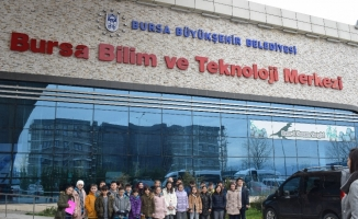 Teknoloji Fen'den BTM ziyareti