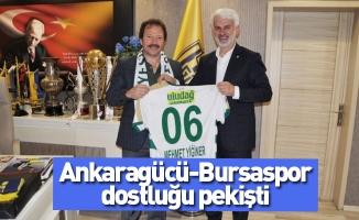 Ankaragücü-Bursaspor dostluğu pekişti