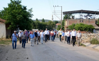 Belediyeden kırsal mahallere hizmet