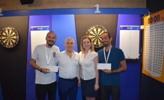 Dart turnuvasında kazananlar belli oldu