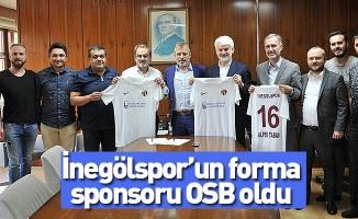 İnegölspor'un forma sponsoru OSB oldu