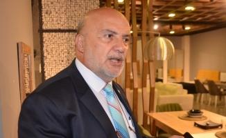 Milletvekili adayı Ahmet Yelis, İnegöl mobilyacılarının dertlerini dinledi