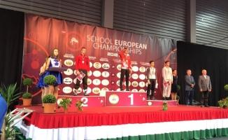 Sertaç Üngör, güreşte Avrupa şampiyonu