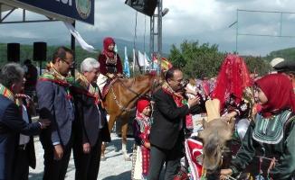 '3. Türk Dünyası Ata Sporları Şenliği' sona erdi