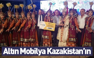 Altın Mobilya Kazakistan'ın Oldu